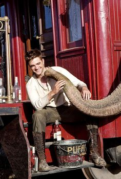 Robert Pattinson in Water for Elephants.. this movie made me love him