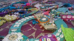 collares brazaletes tobilleras pulseras boho chic hippie