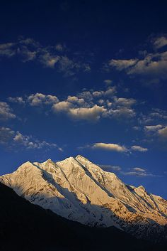 Rakaposhi mountain, 7788m. Pakistan.