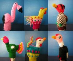 Peruvian Finger Puppet Wool Collectable Handmade New Peru. $20.00, via Etsy.