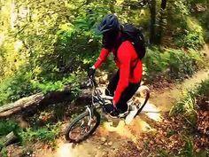 GAETAN III ON FIRE on the 600 trail - YouTube
