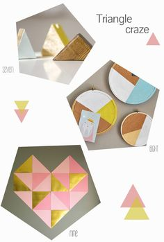Friday DIY roundup: Geometrical - Belle & Chic