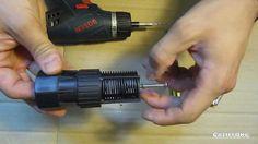 Fabricar Válvula de golpe de ariete con válvula de pie de pozo parte 1