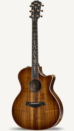 Yamaha Acoustic Guitar, Black Acoustic Guitar, 12 String Acoustic Guitar, Taylor Acoustic Guitar, Custom Acoustic Guitars, Bass Ukulele, Music Guitar, Guitar Chords, Cool Guitar