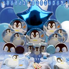 Happy Feet Deluxe Party Box