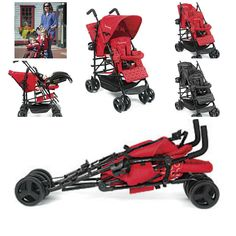 Kinderwagon Hop Double Tandem Stroller Baby Strollers