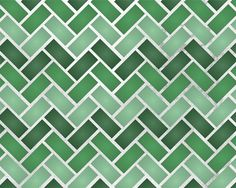 Zig Zag Tiles Allover Stencil for Wall door royaldesignstencils, $22.00