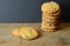 Gluten-free, grain-free Lemon Basil Cookies made with high-protein almond flour and fresh herbs from your garden.