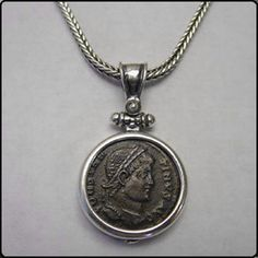 Ancient Greek coin jewelry