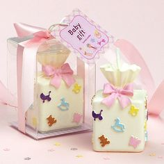 Find More Party Favors Information about gift box shaped smookless candle with…