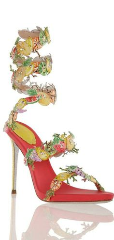 Rene Caovilla I love wrap around heels. They make your legs stand out. Pretty Shoes, Beautiful Shoes, Crazy Shoes, Me Too Shoes, Rene Caovilla Shoes, Stiletto Heels, High Heels, Fashion Shoes, Fashion Accessories