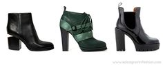 Women top footwear trends for fall winter 2014/15  Ankel Boots  #alexanderwang #marcjacobs #shoes