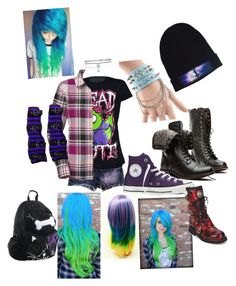"""""""Scene"""" by emo-steampunk-fation ❤ liked on Polyvore"""