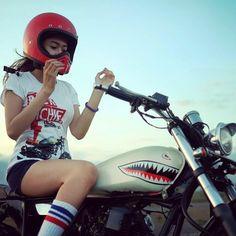Attack #motorbike #motorcycle #custom