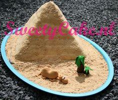 Egypte Piramide Taart