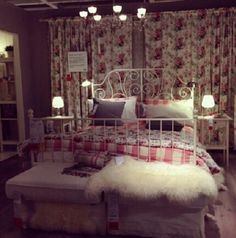 Ikea bedroom white hemnes bed and babybed, emmie ruta