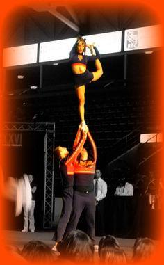 Sarah Jan - My tripod! PCG Vipers #Cheerleading