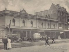 The original Mark Foy's on Oxford St,Sydney (year unknown).*Empire Picture Palace 17 Oxford St.