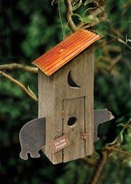 Out house bird house
