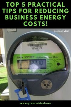 Practical Tips for Reducing Business Energy Costs Energy Saving Tips, Save Energy, Green Tips, Science Fair Projects, Alternative Energy, Climate Change, Business Tips, Helpful Hints, Top