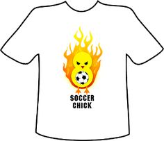 I'm selling Soccer Chick - $20.00 #onselz