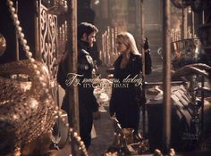 Colin O'Donoghue -Killian Jones - Captain Hook - Jennifer Morrison - Emma Swan on Once Upon A Time