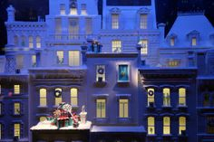 Tiffany's Christmas Windows 2013 New York  See more at http://designlifenetwork.com