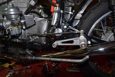 Image result for bmw r100 rear set install