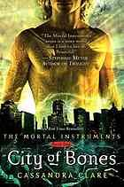 The Mortal Instruments Trilogy / City of Bones by Cassandra Clare.  Suddenly able to see demons and the Darkhunters who are dedicated to returning them to their own dimension, fifteen-year-old Clary Fray is drawn into this bizarre world when her mother disappears and Clary herself is almost killed by a monster.