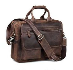 Looking for Kattee Crazy-Horse Leather Briefcase 16 Laptop Tote Shoulder Bag ? Check out our picks for the Kattee Crazy-Horse Leather Briefcase 16 Laptop Tote Shoulder Bag from the popular stores - all in one. Leather Briefcase, Leather Backpack, Leather Suitcase, Laptop Tote Bag, Messenger Bags, Men Coffee, Laptop Stand, Cow Leather, Crazy Horse