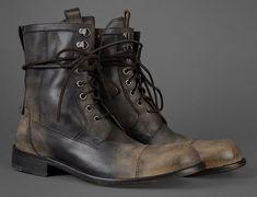 John Varvatos Strummer Combat Boot