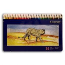 Staedtler Coloured Pencil Set of 36 in a Tin