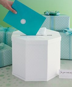 Another great find on #zulily! Eyelet Gift Card Box #zulilyfinds