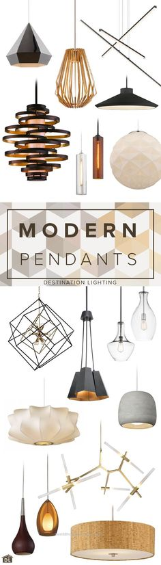 Insane 18 great looking modern pendant lights for every budget.  The post  18 great looking modern pendant lights for every budget….  appeared first on  Home Decor Designs .