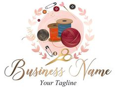 Custom logo design, crochet yarn logo, sew knitting logo, yarns logo, crochet sewing or knitting logo – The Best Ideas Fb Banner, Facebook Banner, Business Logo, Business Card Design, Quick Crochet Patterns, S Logo Design, Custom Design, Logo Samples, One Logo