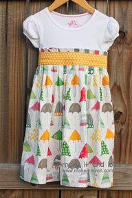 Girl's dress, tutorial