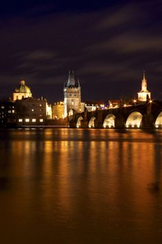 Prague At Night | Czech Republic