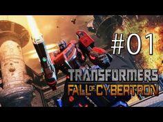 Vamos Jogar Transformers - Fall of Cybertron [ the exodus] - parte 1