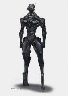 Combat Robot by GAORANYU on DeviantArt