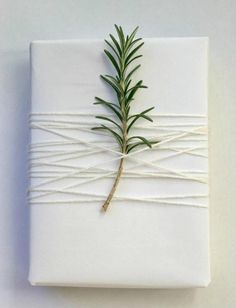 15 Creative And Chic Christmas Gift Wrapping Ideas - Rustic Crafts & Chic Decor - simple white Christmas wrap Christmas Gift Wrapping, Diy Christmas Gifts, Holiday Gifts, White Christmas Decorations, Wedding Gift Wrapping, Christmas Packages, Christmas Ideas, White Christmas Ornaments, Family Holiday