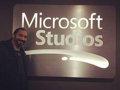 Gran honor estar aqui!!! Microsoft Studios!! #microsoftstudios #xboxone #xbox #gaming #gamers