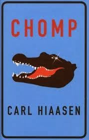 The Active Scrawler: Rosy's scrawled book recommendation: Chomped by Carl Hiaasen