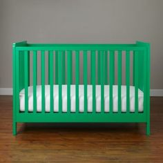 Carousel Crib (Kelly Green)  | The Land of Nod