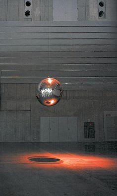 Your imploded view • Artwork • Studio Olafur Eliasson art installation Un petit côté Pendule de Foucault ?