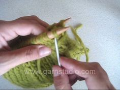 DROPS Technique Tutorial: How to work Kitchener stitch / grafting / weaving