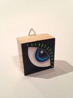 Items similar to Talisman Art Blocks, lucky art charms. Original hand painted design on wooden block. on Etsy Dark Matter, Unique Jewelry, Handmade Gifts, Studio, Etsy, Vintage, Art, Kid Craft Gifts, Art Background