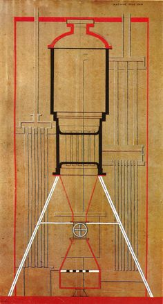 Picabia, A Machine Without Name, 1915