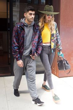GIGI & ZM - 07/06/2016  OUT & ABOUT IN NYC