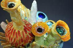 Coral Reef Sea Ocean inspired Ceramic Art Sculpture by clayforms, $350.00 Coral Reef Art, Sea Sculpture, Gifts For Photographers, Sea And Ocean, Creative Gifts, Ceramic Art, Art Projects, Arts And Crafts, Inspired