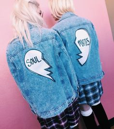Soul Mates Denim Jacket -  $75.00